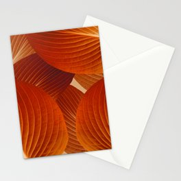 Leaves in Terracotta Color #decor #society6 #buyart Stationery Cards