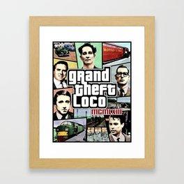 The Great Train Robbery 1963 Framed Art Print