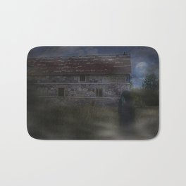 Abandoned House in the Mist Bath Mat