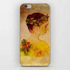 Pretty_vintage_girl iPhone & iPod Skin