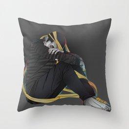 Stiles Nogitsune Throw Pillow