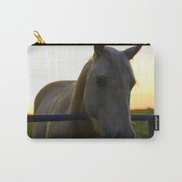 Beautiful Horse at Sunset Carry-All Pouch