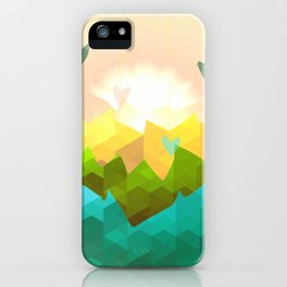 Heart's Rising iPhone Case