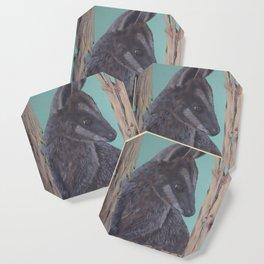 Pretty Faced Wallaby Coaster