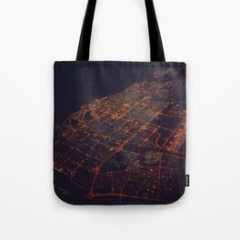desert lights Tote Bag