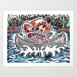 A Dream Of Jason Art Print