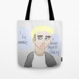 Justin Ramen Hair Tote Bag