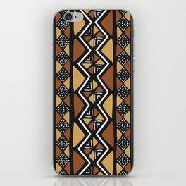 African mud cloth Mali iPhone Skin