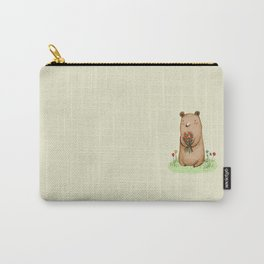 Bear Bouquet Carry-All Pouch