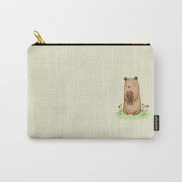 Bear Bouquet Carry-All Pouch