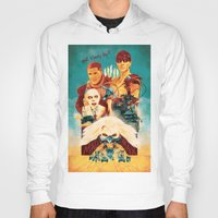mad max Hoodies featuring Mad Max by marclafon