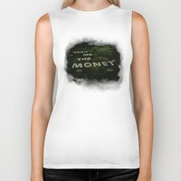 monet Biker Tanks featuring Show me the Monet by Cameron McEwan