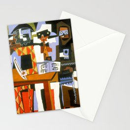 Pablo Picasso Three Musicians Stationery Cards