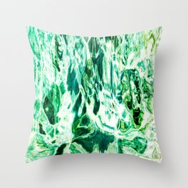 491 - Abstract Water design Throw Pillow
