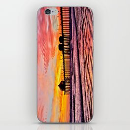 HB Sunsets Calendar Cover 2015 iPhone Skin
