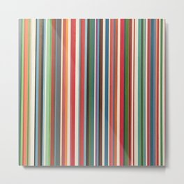 STRIPES 33 Metal Print
