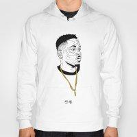 kendrick lamar Hoodies featuring Kendrick Lamar by Timothy McAuliffe