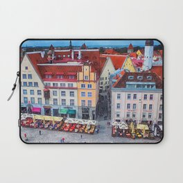 Tallinn art 10 #tallinn #city Laptop Sleeve