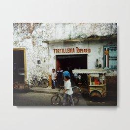 Tortilleria Rosario Metal Print