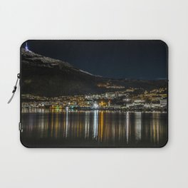 Mountain and City Laptop Sleeve