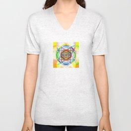 Sunrise - The Sacred Geometry Collection Unisex V-Neck