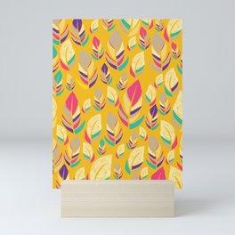 Dancing Feathers Mini Art Print
