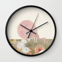 long scarf (sun) Wall Clock