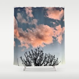 Cotton Candy Shower Curtain