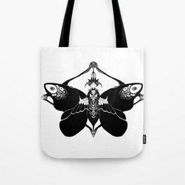 Fluttering Death Tote Bag