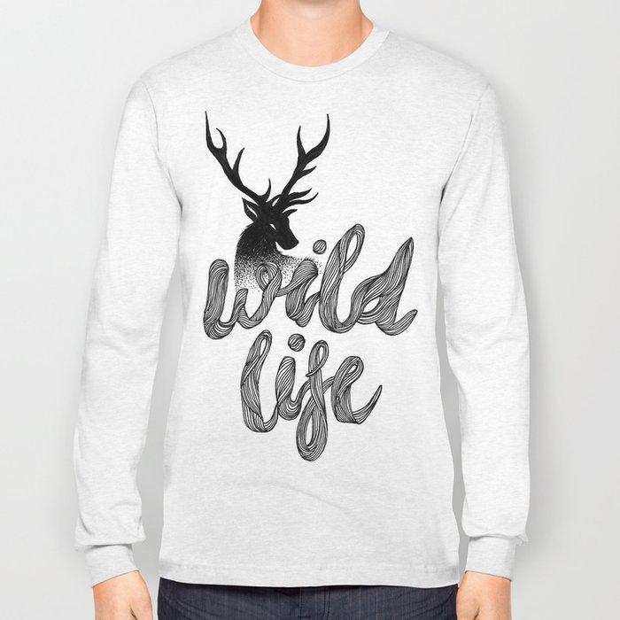 WILD LIFE Long Sleeve T-shirt