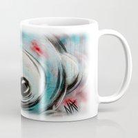 bubblegum Mugs featuring Bubblegum by Nathalie Lagacé