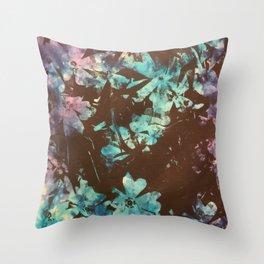Weston Flowers, Tie Dye  Throw Pillow