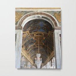 Hall of Mirrors, Versailles Metal Print