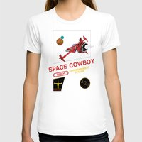 bebop T-shirts featuring NES Cowboy Bebop by IF ONLY