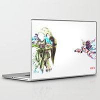 gundam Laptop & iPad Skins featuring KINDESS by Rideth_Mochi