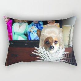 RuPawl and the Final Four Rectangular Pillow