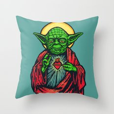 Holy Master Throw Pillow