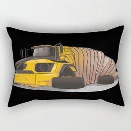 Articulated bread Rectangular Pillow