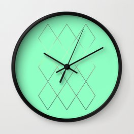 moses interlace Wall Clock