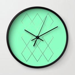 moses interlace Wall Clock
