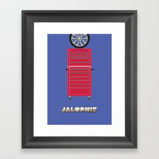 Essence of Jalopnik Framed Art Print