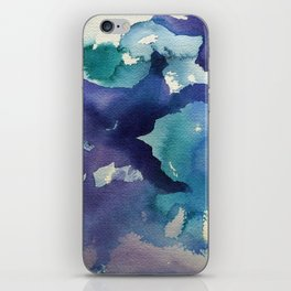 I dream in watercolor B iPhone Skin
