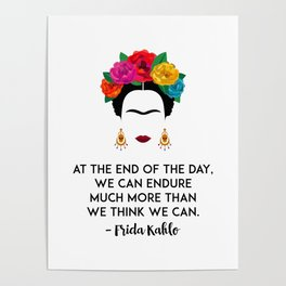 Frida's Strength Poster