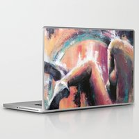 charlie Laptop & iPad Skins featuring Charlie by Andrea Creates