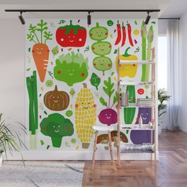 Eat your greens! Wall Mural