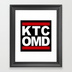 KTC OMD Framed Art Print