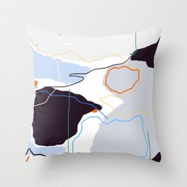 Forest IV Throw Pillow