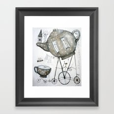 tea house Framed Art Print