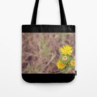 wild things Tote Bags featuring Wild Things by Allena Noel Design