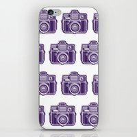 I Still Shoot Film Holga Logo - Deep Purple iPhone & iPod Skin